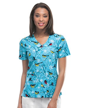 dental print scrubs