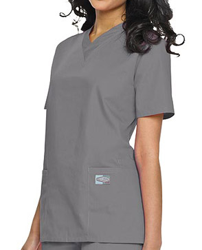 gray scrubs