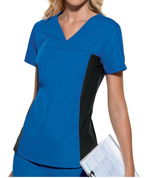 royal blue scrubs