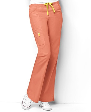 orange scrubs