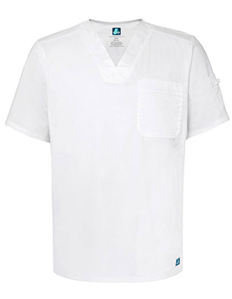 ADAR Pop-Stretch Men's Contemporary V-neck Top