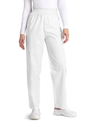Adar Women Tall Four Pocket Cargo Medical Scrub Pants