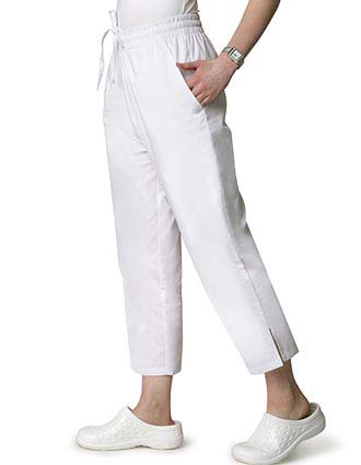 Adar Womens Uniform Two Pocket Capri Scrub Pants