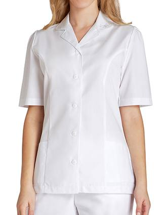 Adar Women Medical Scrubs Two Pockets Collared Scrub