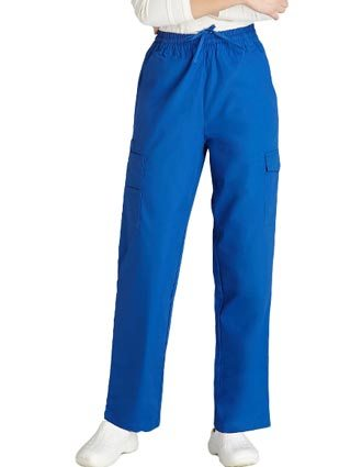 Clearance Sale Unisex Multi-Pocket Cargo Medical Scrub Pants by Adar