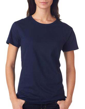 780L Anvil Ladies' Midweight Mid-Scoop Cotton Tee
