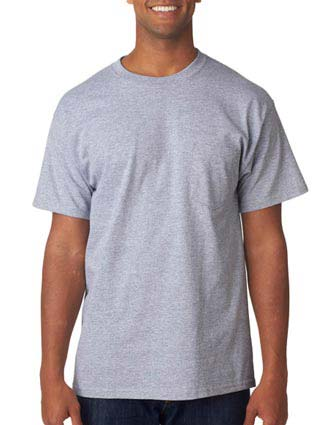 Anvil Adult Midweight Cotton Pocket Tee