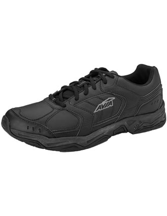 Avia Women's Slip Resistant Leather Upper Athletic Shoes