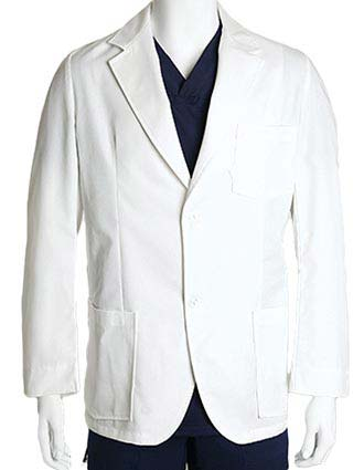 Barco Men's 31 Inches Three Mitre Pocket Lab Coat