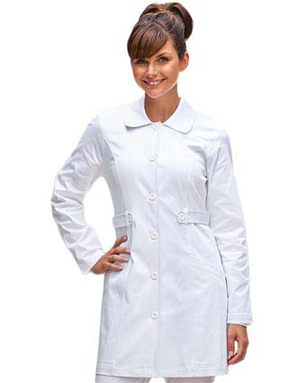 Barco NRG Junior Fit 33 Inch Two Pocket Tab Front Medical Lab Coat