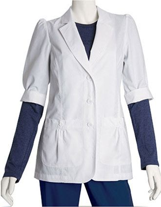 Barco Women 28 inch Short Sleeve Medical Lab Coat