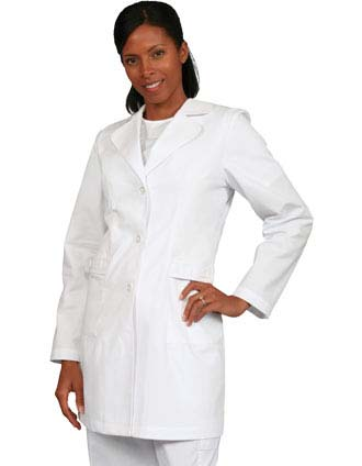 Barco Womens 32 Inch Two Pocket Fashion Medical Lab Coat