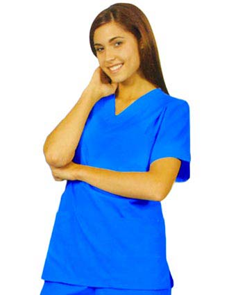 Clearance Sale! Barco Three Pocket V-Neck Scrub Top