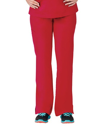 Bio Stretch Ladies Multi-Pocket Cargo Scrub Pant