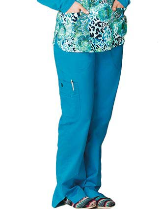 Bio Stretch Ladies Multi-Pocket Cargo Tall Scrub Pant