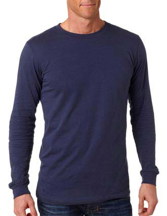 3501 Bella+Canvas Men's Long-Sleeve Jersey Tee