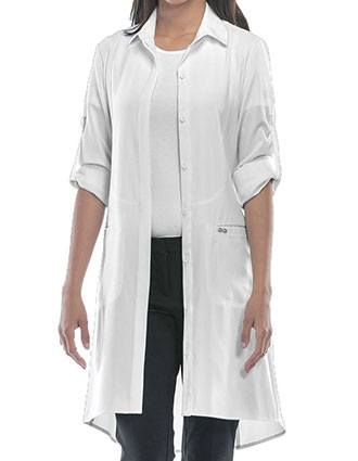 Certainty Infinity Women's 40 Inches Color Lab Coat