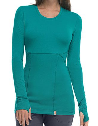 Certainty Women's Long Sleeve Knit Tee