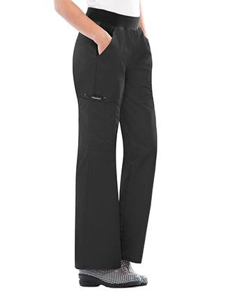 Flexibles Women Cargo Pocket Petite Medical Scrub Pants