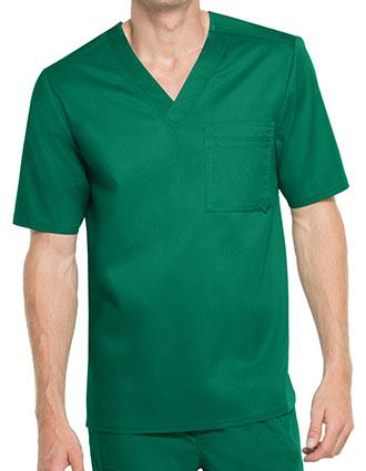 Cherokee Luxe Men's V-Neck Scrub Top