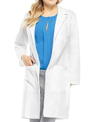 Cherokee Women's Four Pocket 37 Inches Long Consultation Lab Coat