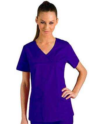 Clearance Sale! Baby Phat Two Pocket V-Neck Scrub Top