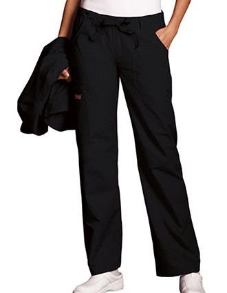 Cherokee Workwear Women Petite Drawstring Scrub Pants
