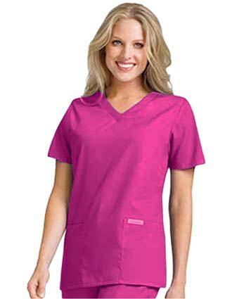 Clearance Sale! Women V-Neck Nursing Scrub Top by Cherokee