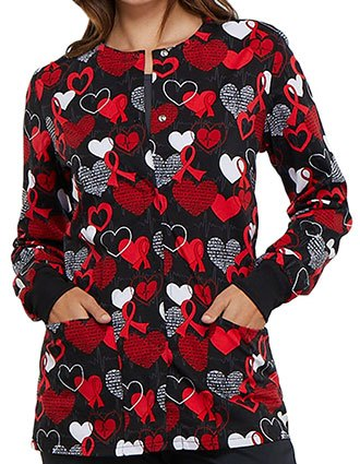 Cherokee Geniune Women's Heart Smart Printed Jacket