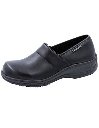 Cherokee Workwear Womens Footwear Leather Step In Shoes