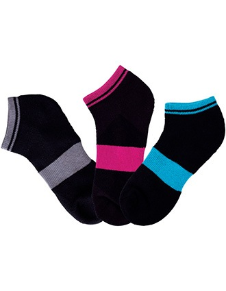 Cherokee Womens Assorted 1-3 pr pack of Crew Socks