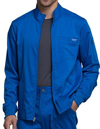 Cherokee Workwear WW Revolution Men's Zip Front Jacket