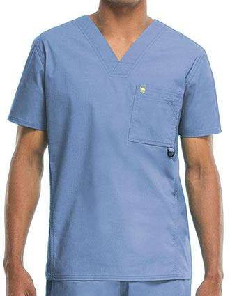 Code Happy Bliss w/ Certainty Men's Antimicrobial Vented V-Neck Top