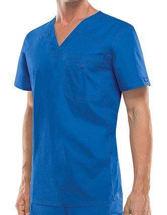 Dickies EDS Signature Stretch Men's V-Neck Scrub Top