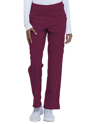 Dickies EDS Essentials  Women's Natural Rise Tapered Leg Pull-On Petite Pant