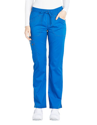 Dickies Essence Women's Mid Rise Straight Leg Drawstring Pant