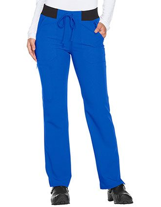 Dikies Xtreme Stretch Women's Mid Rise Straight Leg Drawstring Tall Pant