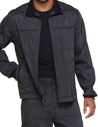 Dickies Men's Zip Front Mock Turtleneck Jacket