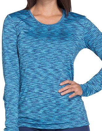Dickies Dynamix Women's Underscrub Long Sleeve Knit Tee
