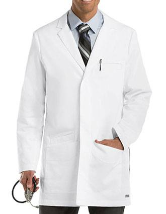 Grey's Anatomy Men's 35 inch Short Lab Coat