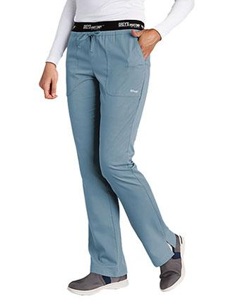 Grey's Anatomy Active 3-Pockets Drawstring Petite Scrub Pant