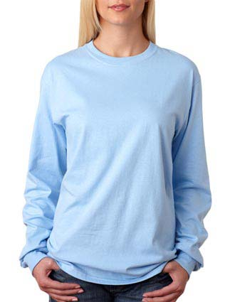 5586 Hanes Adult Tagless® Long-Sleeve T-Shirt