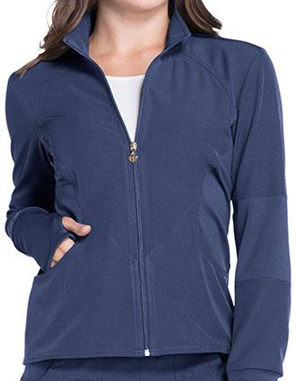 HeartSoul Break On Through Break Free Women's Zip Front Warm-up Jacket