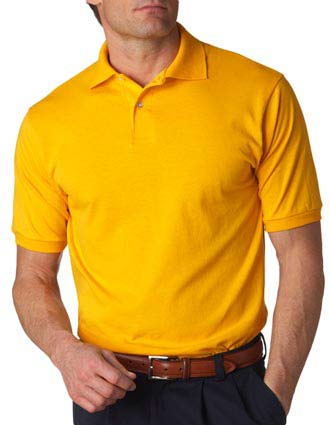 437 Jerzees Adult Jersey Polo with SpotShield