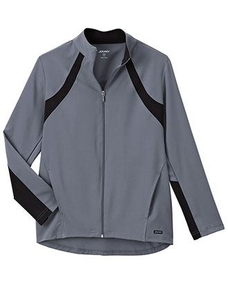 Jockey Modern Women's Athletic Contrast Warm Up Jacket