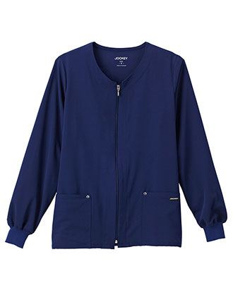 Jockey Classic Women's V-Neck Zip-Up Jacket