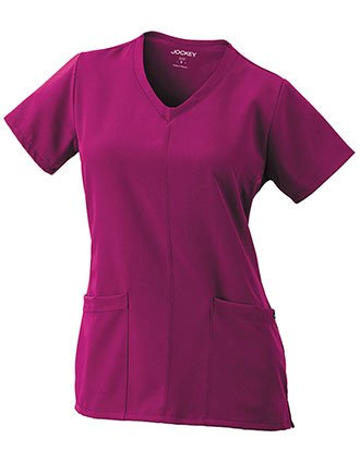 Jockey Classic Fit Women's Soft V-Neck Great for Groups Solid Top