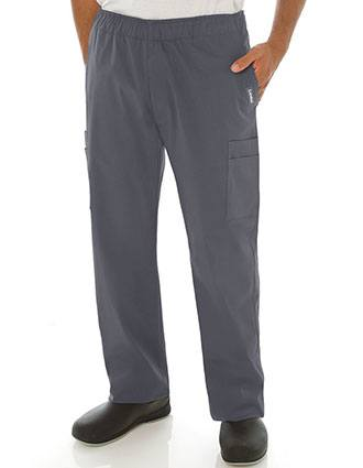 Landau Men's Stretch Contemporary Fit Cargo Scrub Pants