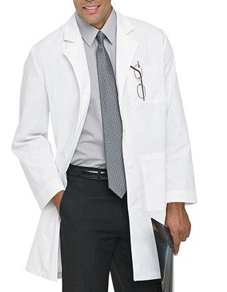 Landau Uniform 39 Inches Three Pocket Unisex Medical Lab Coat