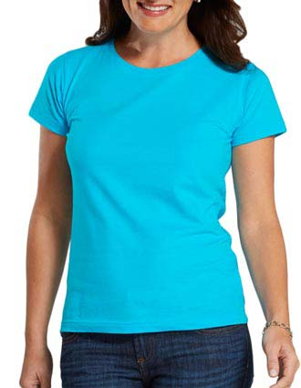 3516 LA T Ladies' Fine Jersey Longer Length T-Shirt
